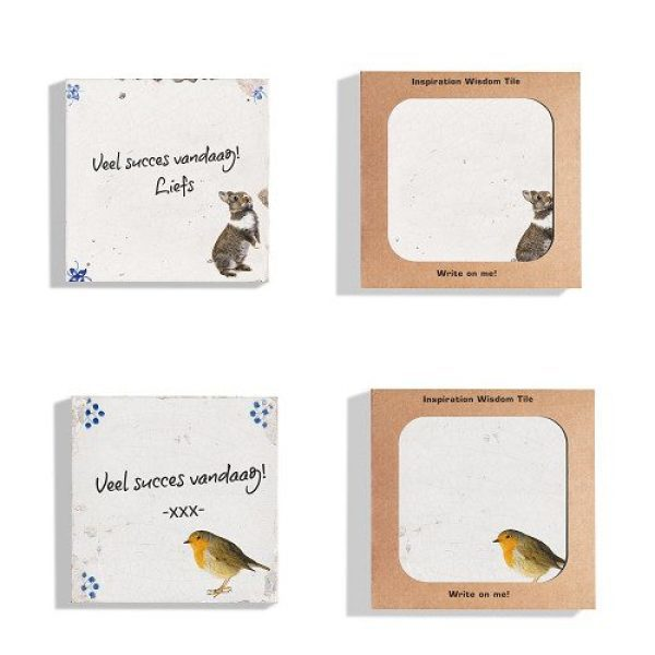 Dutch Design Wisdom Tile Customized